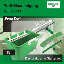 Profi Glasreinigungs Set I AK013 I Unger