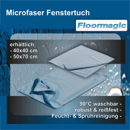 Microfaser Fenstertuch I Floormagic