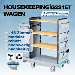 Housekeeping Wagen 924 Recklinghausen I trolley-system
