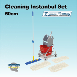 Cleaning Istanbul Set 50cm I trolley-system
