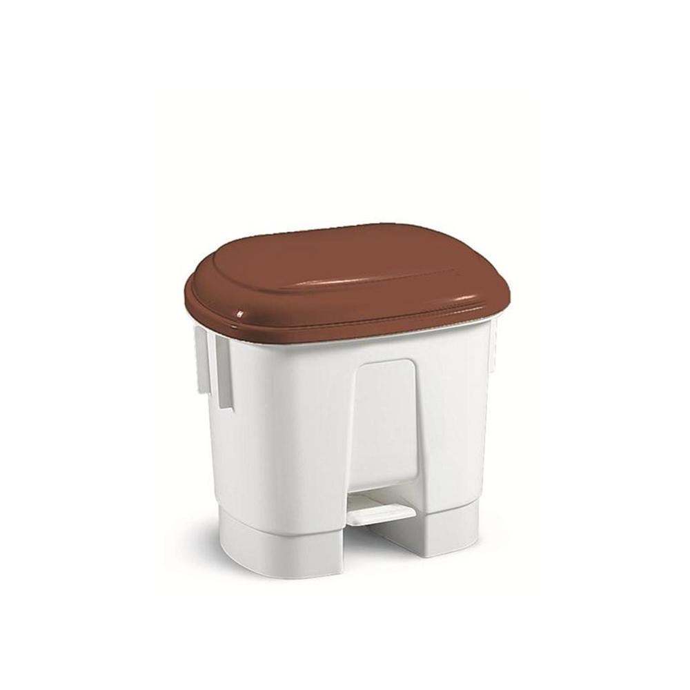 haccp m lleimer mit deckel in braun 30l von floormagic. Black Bedroom Furniture Sets. Home Design Ideas